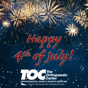 Fireworks | Happy 4th of July | The Orthopaedic Center