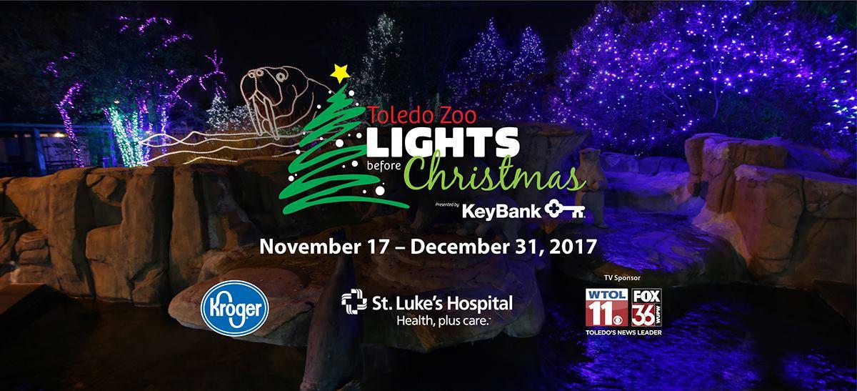 Toledo Zoo Lights Christmas 2017