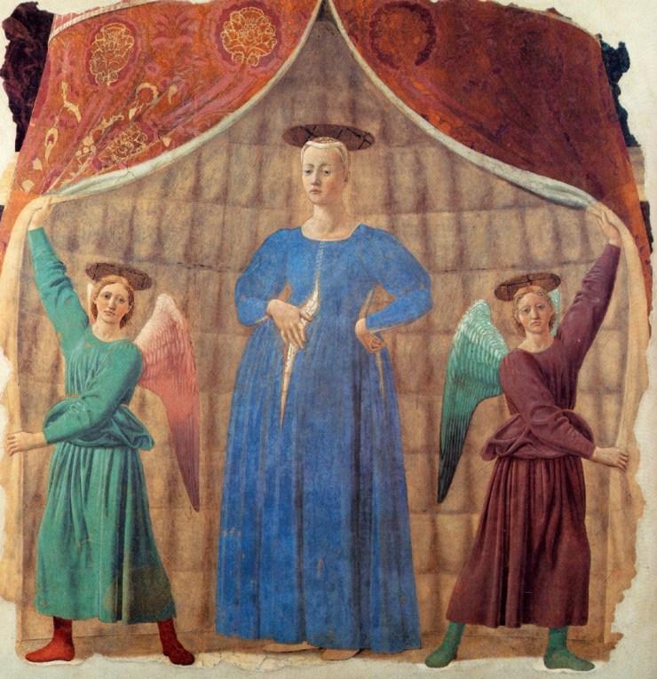 Museum of the Madonna del Parto, Monterchi   Visit Tuscany