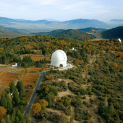 Palomar Mountain with Observatory