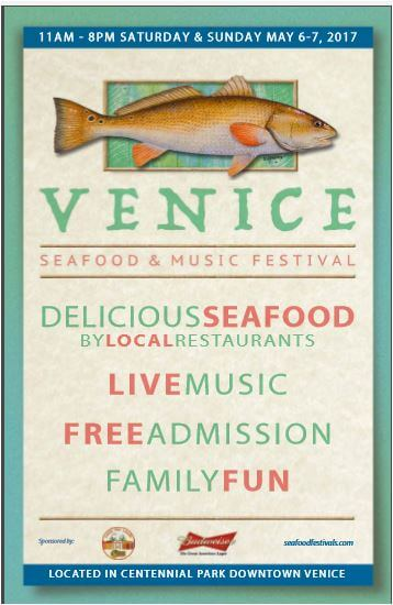 SEAFOOD FESTIVAL Sat & Sun, May 6-7, 11am-8pm
