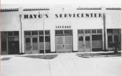 #4. 140 W. Tampa Avenue: The Orange Blossom Garage (today Venice Theatre)