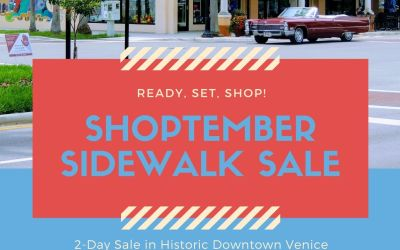 Shoptember Sidewalk Sale, Sept 4th-5th from 10am-4pm