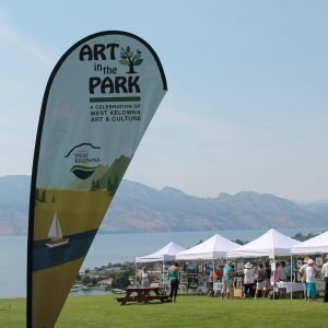 art in the park west kelowna 2