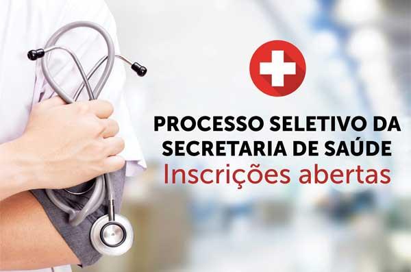 Inscrições para processo seletivo da Secretaria de Saúde de Camboriú seguem até o dia 26