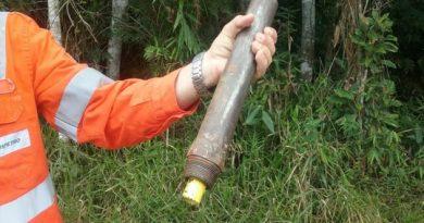 Ladrões roubavam combustível de duto da Transpetro em Tijucas