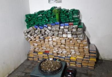 Polícia Militar apreende 288 quilos de maconha