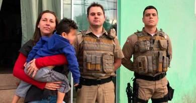PM resgata criança com sonambulismo que vagava de madrugada no Monte Alegre