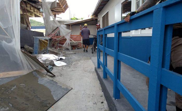 Trabalhador morre e outro fica ferido após caírem de andaime em Camboriú