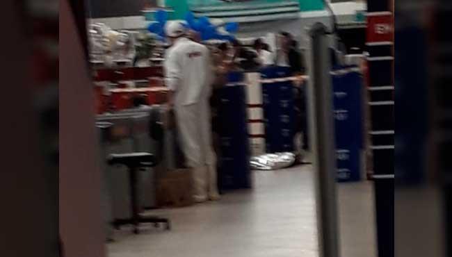 Segurança de supermercado se apresenta na delegacia de Camboriú