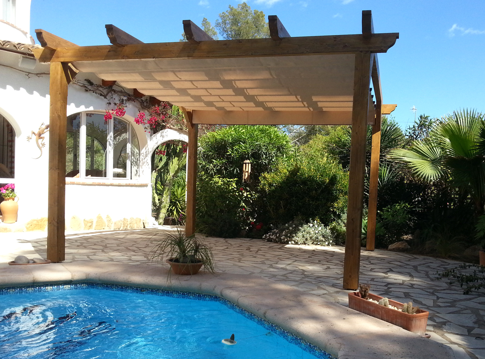 Wooden Pergolas Vista Awnings And Blinds