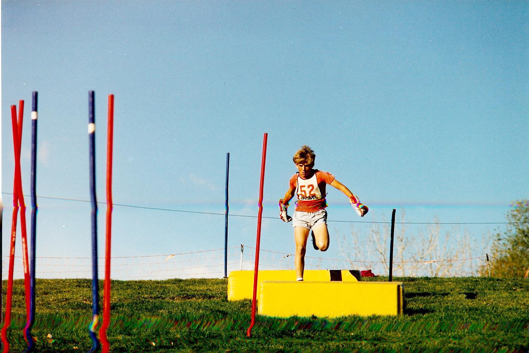 Sacha summer Olympic training