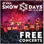 Vail Snow Days - Music 2018 - VBSR