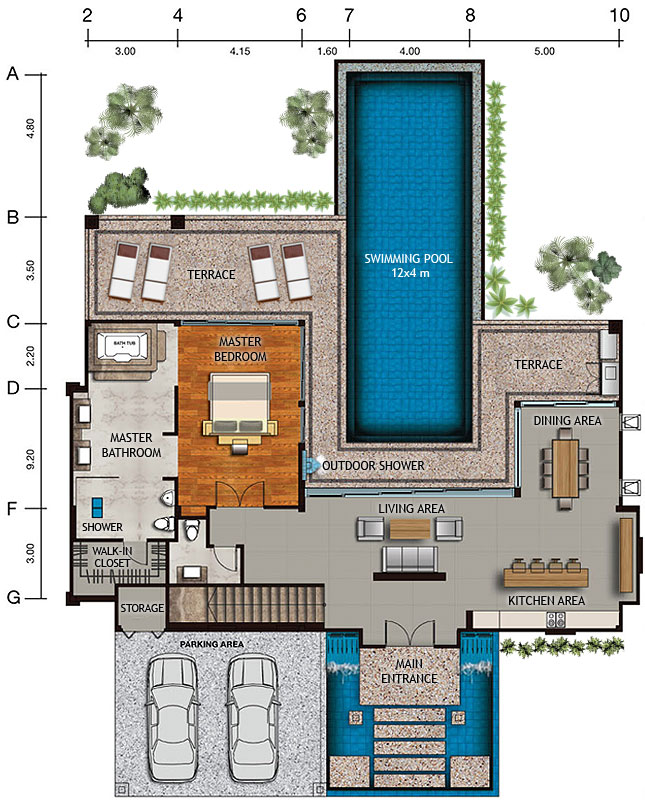 House And Site Layouts Amp Master Plan Vista Del Mar