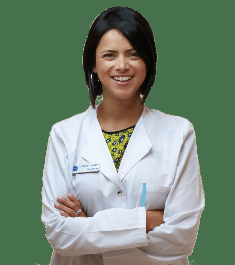Dra rosalba salazar oftalmologa vista gutierrez amoros A Coruña