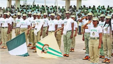 Photo of Female NYSC Member Commits Suicide by Drinking 2 Bottles of Sniper