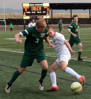 varsity soccer vs TR2