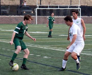 varsity soccer vs TR4