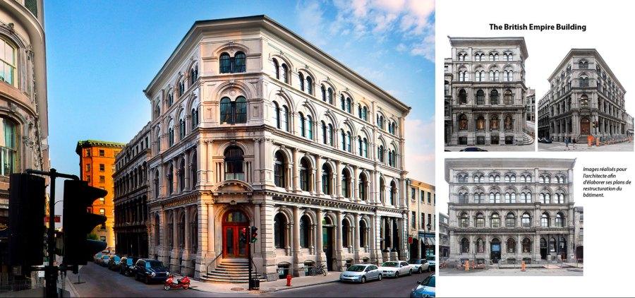 Architecture Montréal