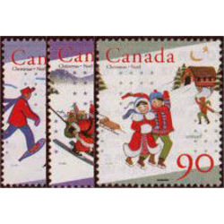 Canada 1627 9 Unicef And Christmas 1996 1 X 45 1 X