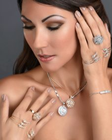 Jewellery On Model Eva