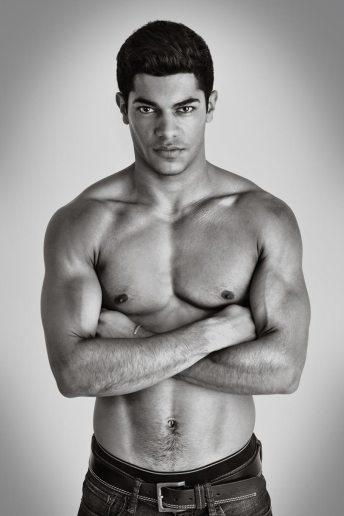 Athletic Modelling Portrait