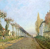 Image result for sisley impressionist paintings