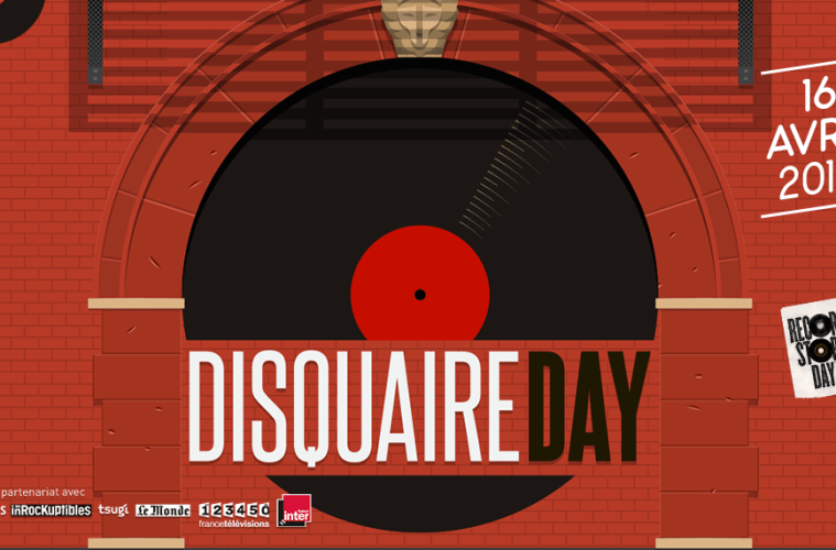 disquaire day / record store day 2016
