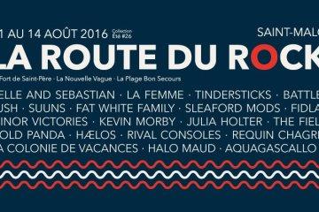 route du rock 2016 nouveaux noms