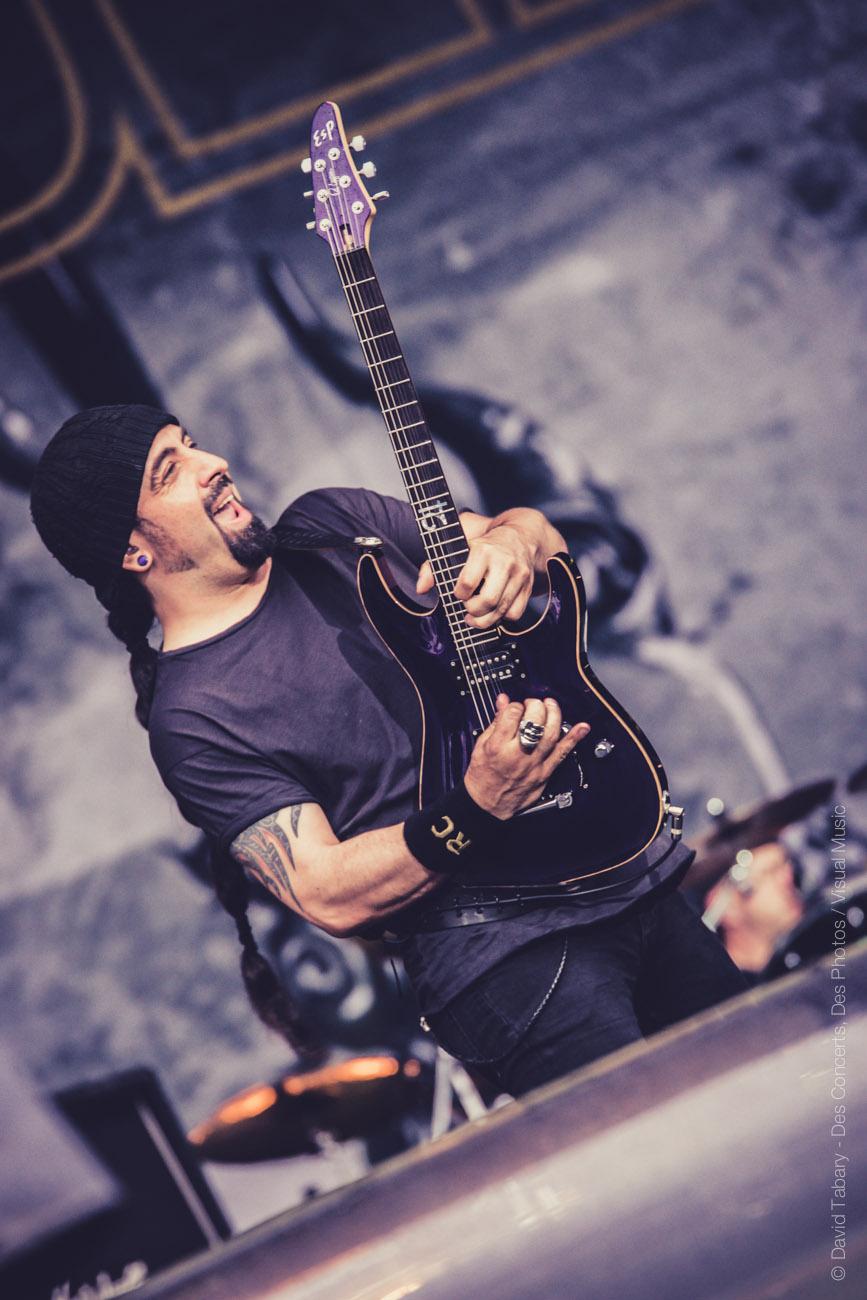 Volbeat, Download Festival Paris, 12 juin 2016