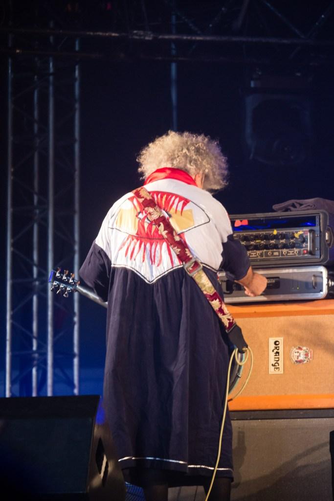 King Buzzo avec The Melvins au Hellfest le 17 juin 2016