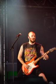Chris Bishop de Crobot au Hellfest le 18 juin 2016