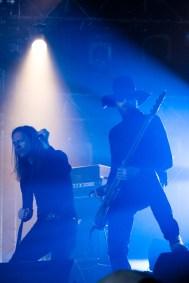 Lee Dorrian et Leo Smee avec With The Dead au Hellfest le 18 juin 2016