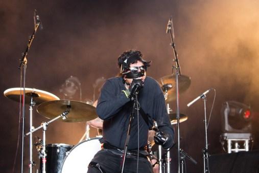 Lakis Panagiotopulos de Lecherous Gaze au Hellfest le 19 juin 2016