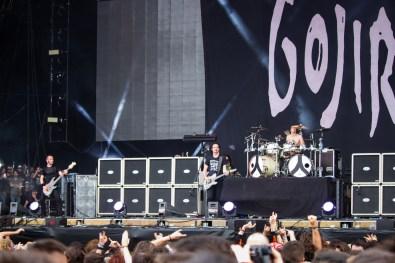 Gojira au Hellfest le 19 juin 2016