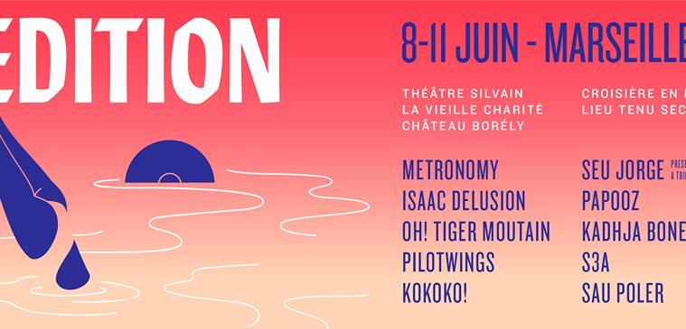 Programmation L'Edition Festival 2017