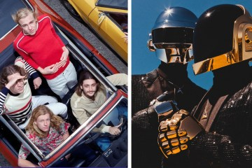 parcels daft punk overnight