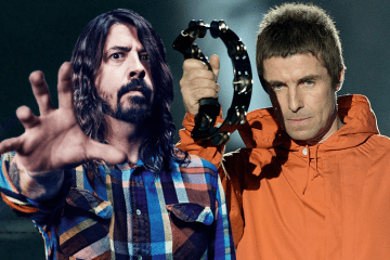 foo fighters liam gallagher come together