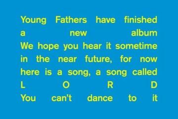 young fathers lord nouveau morceau