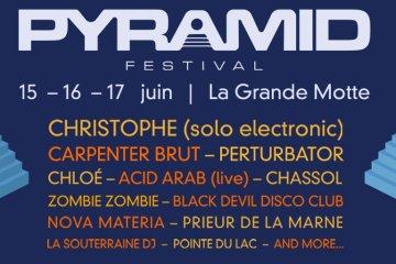 pyramid festival 2018 la grande motte