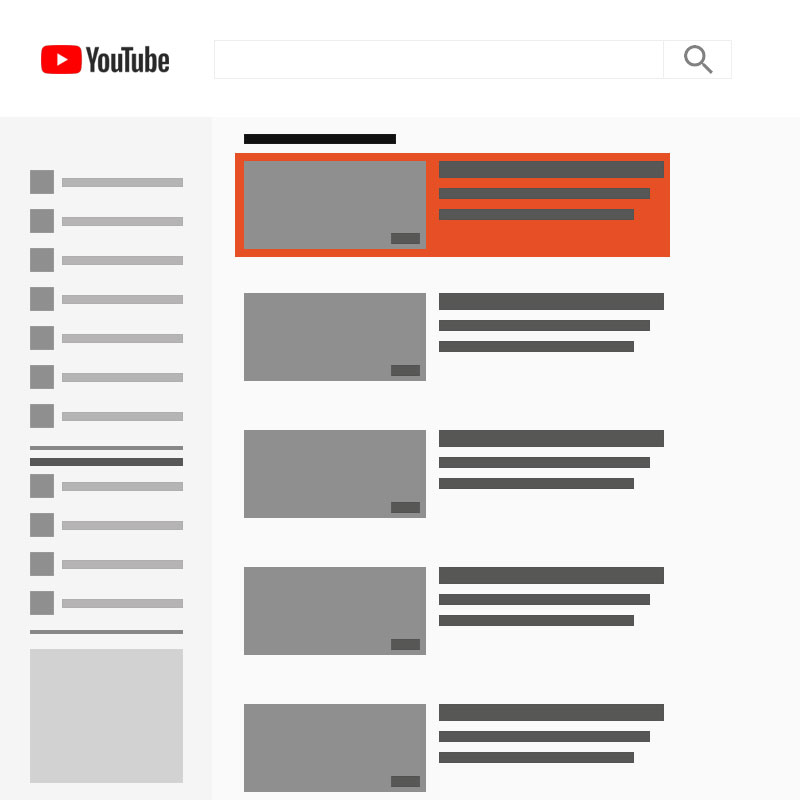 youtube discovery ad