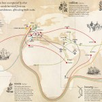 Infographic Mapping The Spread Of Words Along Trade Routes