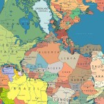 Incredible Map Of Pangea With Modern Day Borders