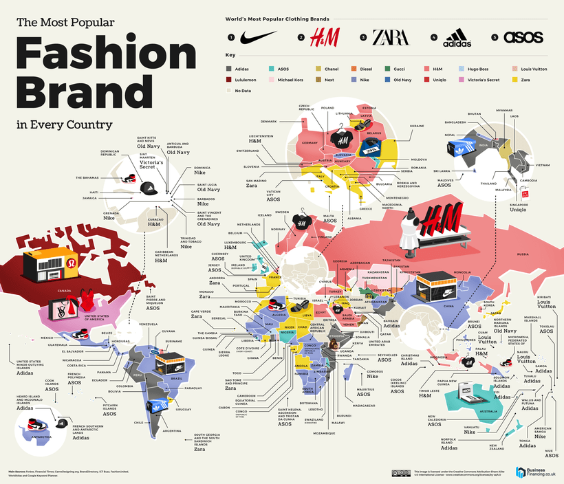 Most Searched Fashion Brand in the World 820px