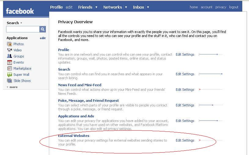 Facebook Privacy Settings (1)