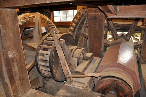 Grist Mill Machinery, Cyrus McCormick Farm and Workshop, Raphine, VA