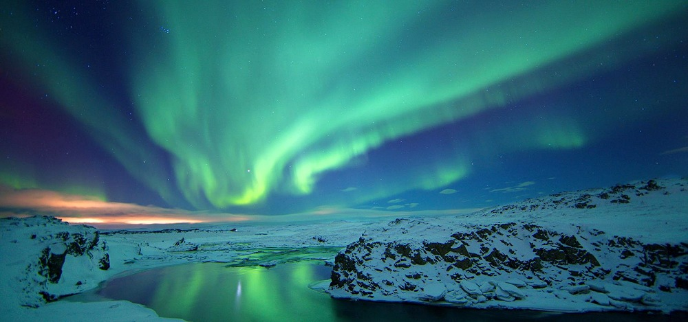 North Pole Northern Lights