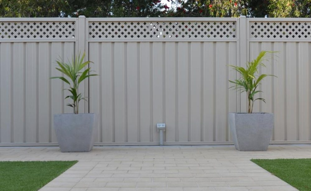 Steel Sheet Fencing