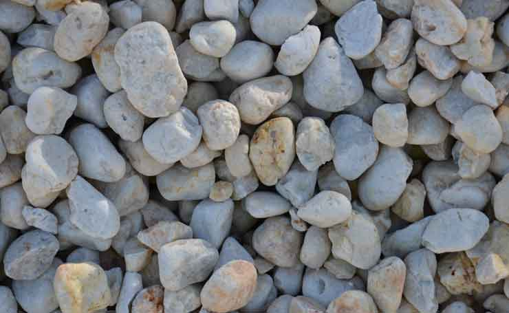 Landscaping Pebbles are ideal for low maintenance gardens.