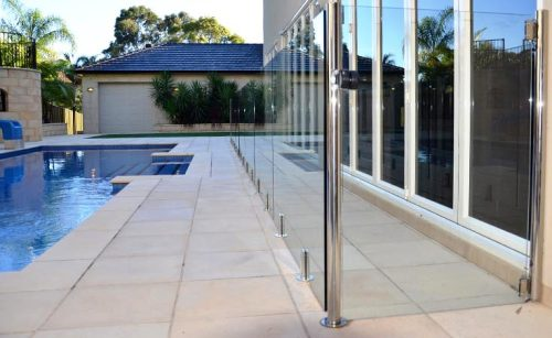 Frameless Glass Pool Fencing Adelaide